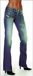 фасон фирменные джинсы