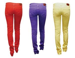 цвет джинс