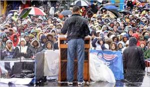 Барак Обама в джинсах