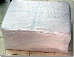 упаковка джинсов в пакеты