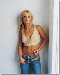 Бритни Спирс в джинсах с заниженной талией