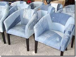 Джинсовые кресла