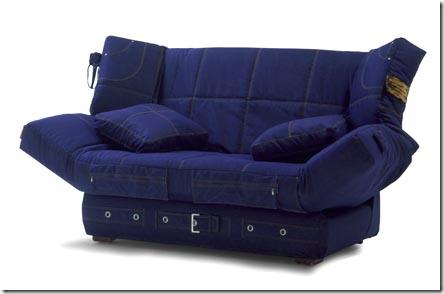джинсовый диван