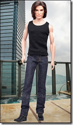 Кен в джинсах