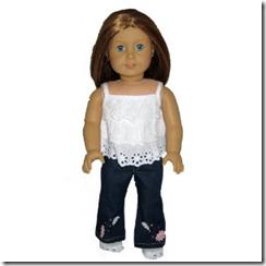 Кукла в джинсах