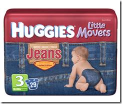 Джинсовые подгузники Huggies