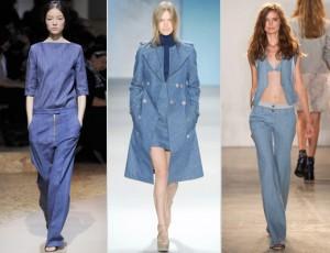 Джинсовая мода весна лето 2011