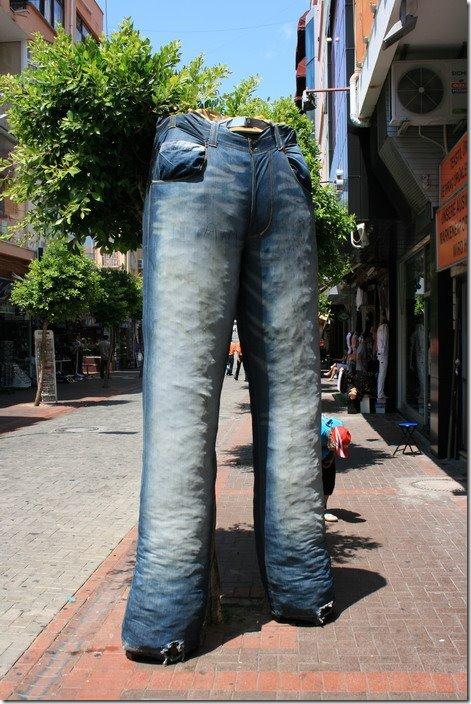 Монументальные джинсы