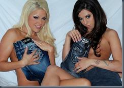 джинсы за обнажение