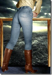 Women In Boots And Jeans