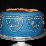 джинсовый торт