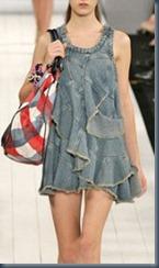 пляжное джинсовое платье
