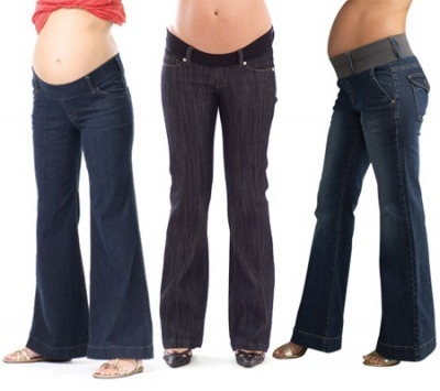 17465ae268c7 Во время беременности Вы все еще можете носить ваши любимые джинсы. Просто  их надо ...