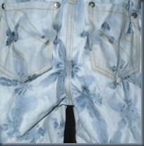 Детские вареные джинсы своими руками