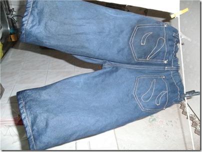 детские вареные джинсы