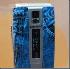 джинсовый телефон