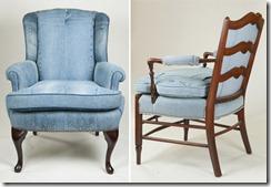 мебель из джинсов