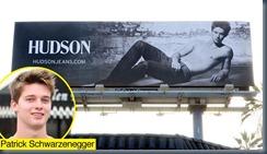 Патрик Шварцнеггер в рекламе джинсов