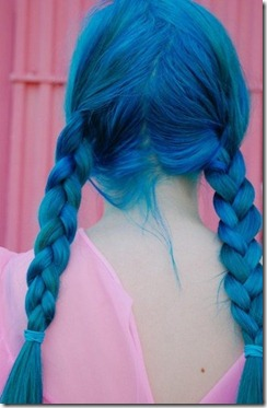Джинсовые волосы