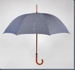 Джинсовый зонт