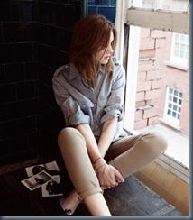 Укороченные джинсы mih-jeans
