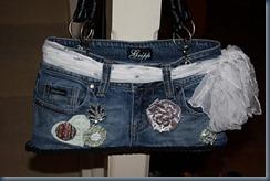 джинсовая сумочка на праздник