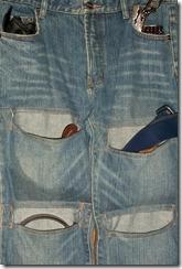 джинсовый организатор