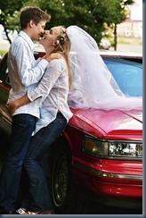 жених и невеста в джинсах