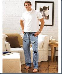 джинсовая пижама