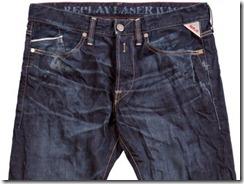 Лазерная стирка джинсов