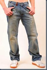 не стираные джинсы