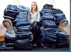 джинсы пожертвование