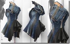 Jeffrey Wang - джинсовые скульптуры