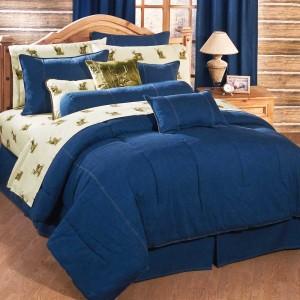 джинсовое постельное белье