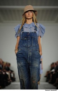 джинсовая спецовка