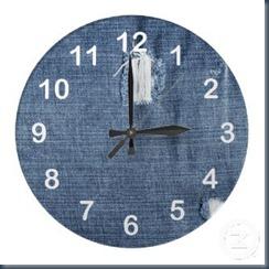 джинсовые часы