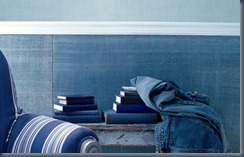 джинсовые интерьерные ткани