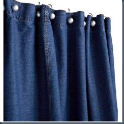 джинсовая штора