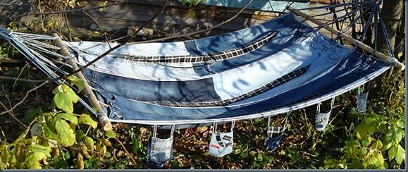 Гамак из джинсов