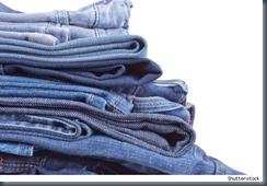 Храним джинсы в шкафу