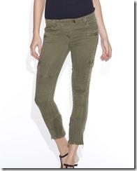 весенние джинсы хаки