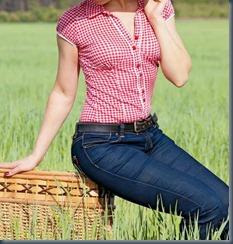 джинсы на пикник
