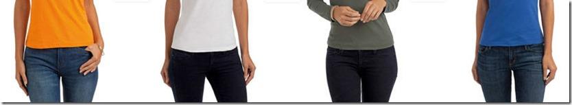 джинсы футболки