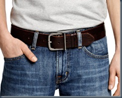 ремень с джинсами
