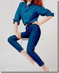 женственные джинсы