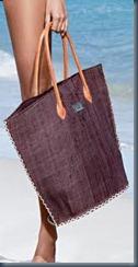 Джинсовая пляжная сумка