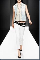 модный джинсовый показ