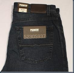 немецкие джинсы Pioneer
