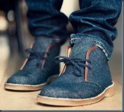 мужсая джинсовая  обувь