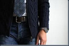 джинсы и галстук